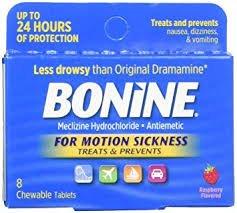 Bonine Motion Sickness (8 Tablets)