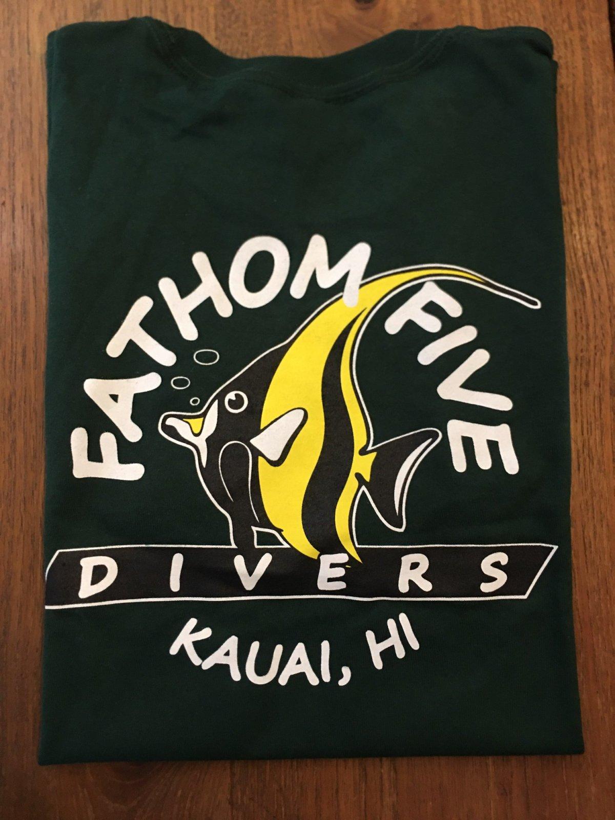 Fathom5 Logo Tee, Forest
