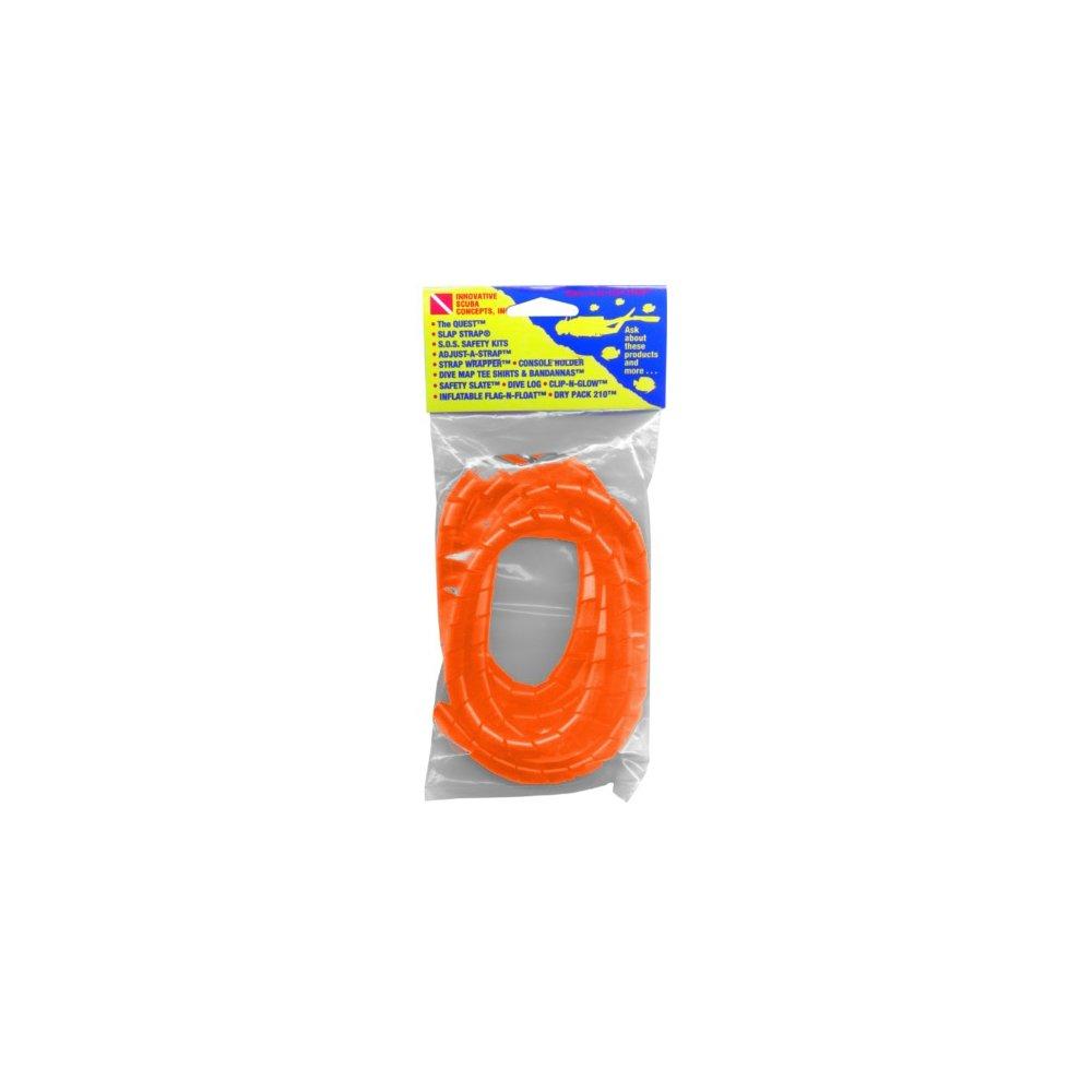 Pre-Cut 50 Spiral Hose Orange