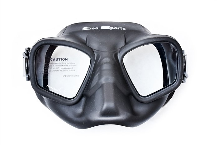 Free Diving Mask, Ultra Low Volume
