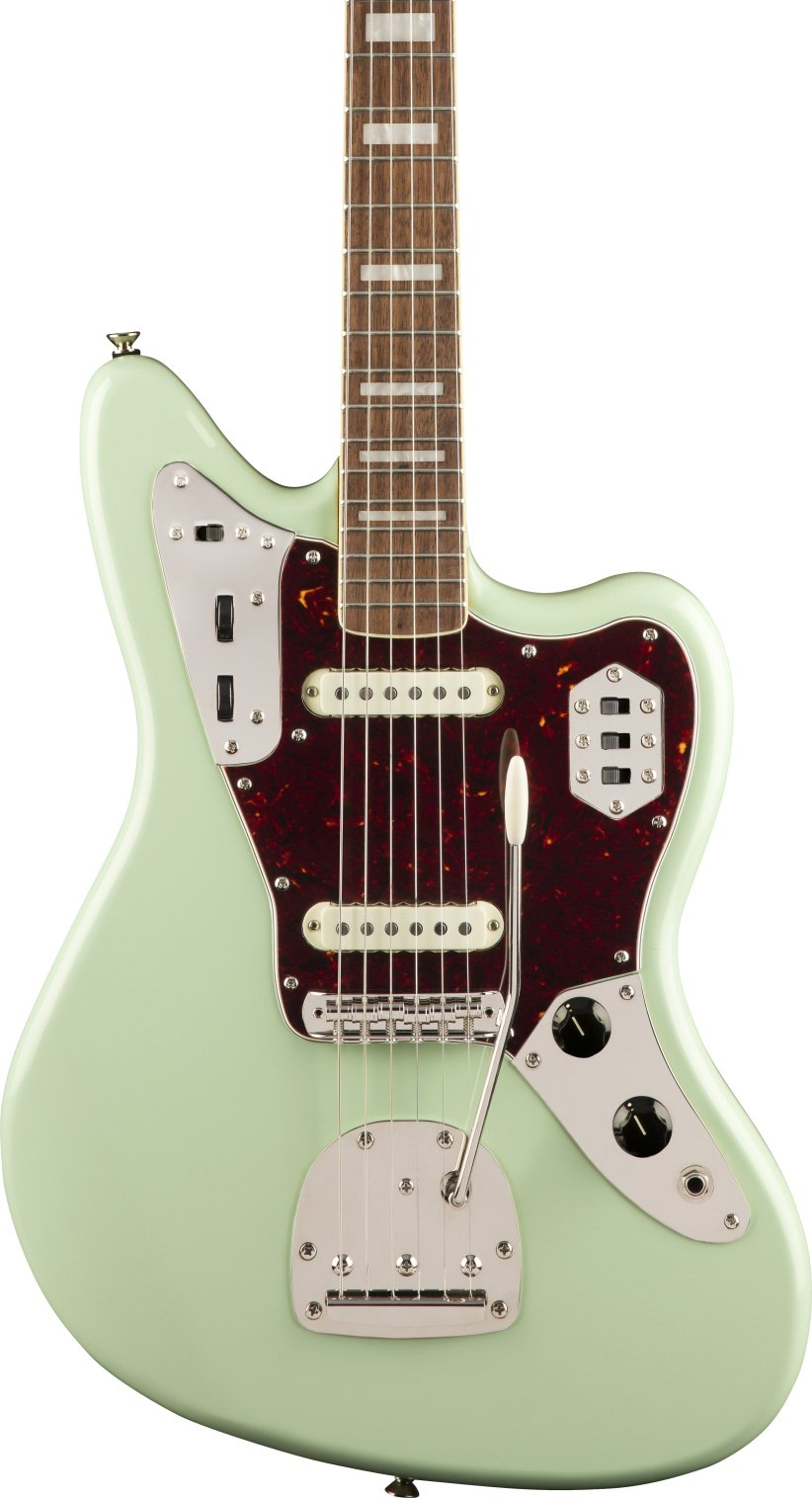 Squier Classic Vibe 70s Jaguar in Surf Green
