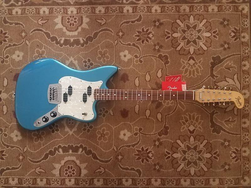 Fender Electric XII PF Lake Placid Blue w/ Gig Bag