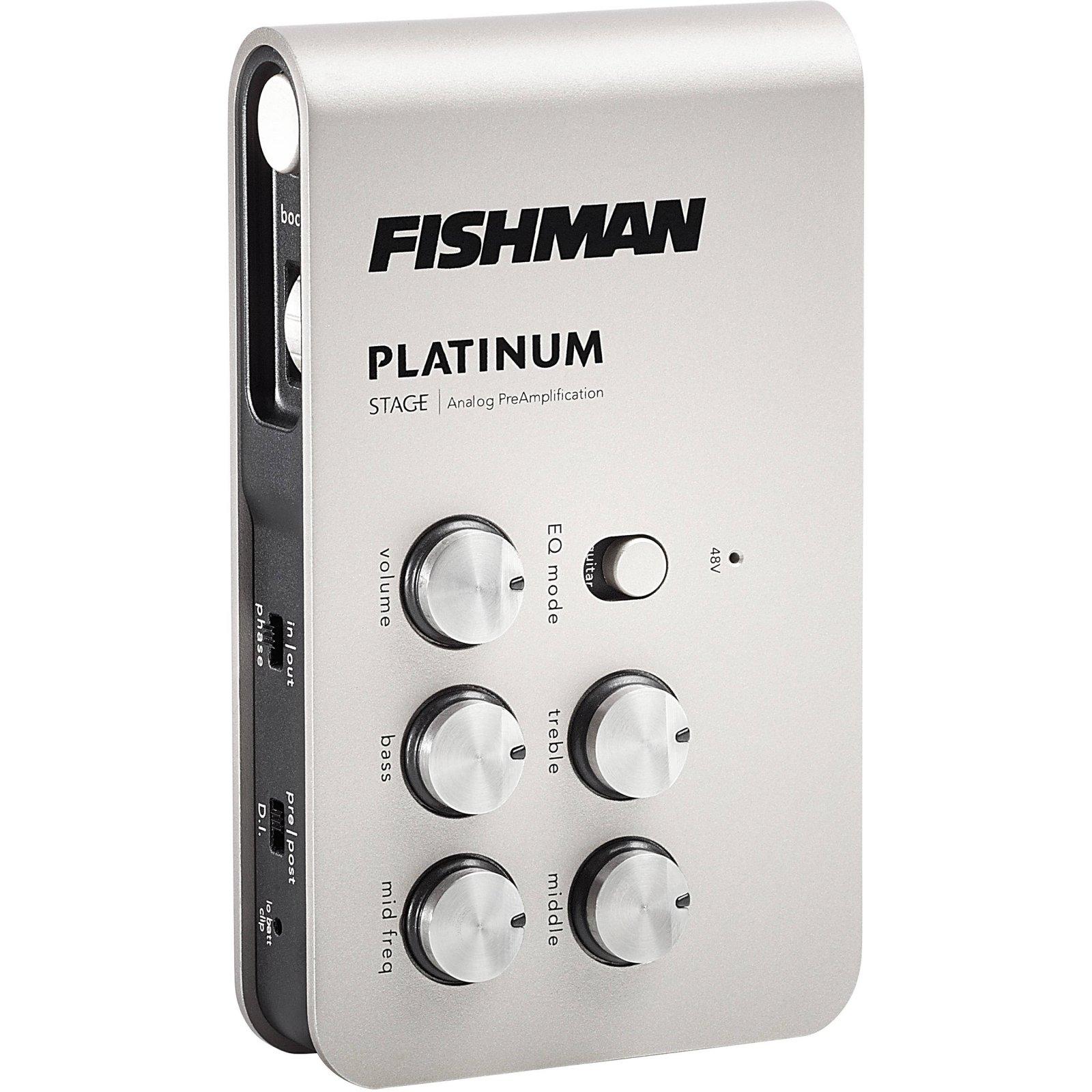 Fishman Platinum Stage PreAmp and DI