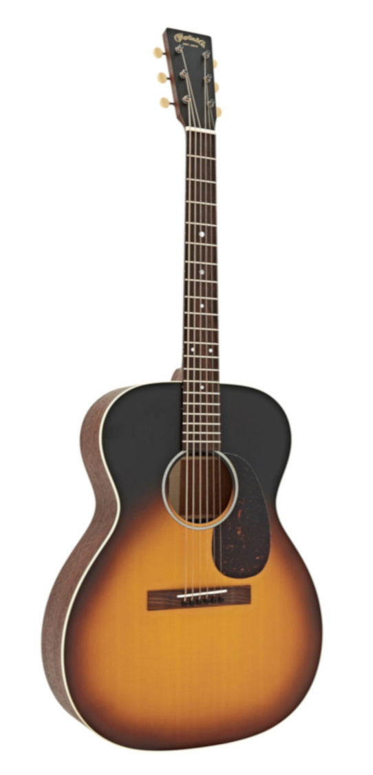 Martin 00017E Acoustic/Electric Guitar, Whiskey Sunset Finish