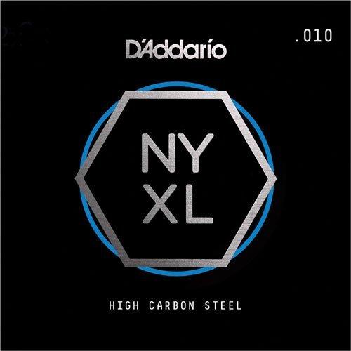D'Addario NYXL Plain Steel 010 2-Pack