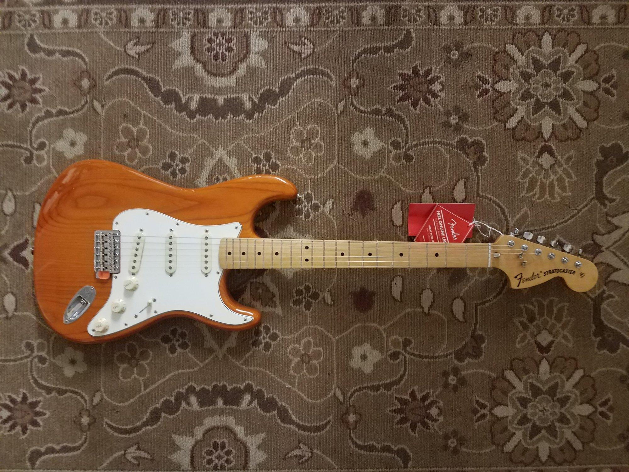 Fender Vintera 70's Stratocaster w/ Gig Bag & Pro Setup