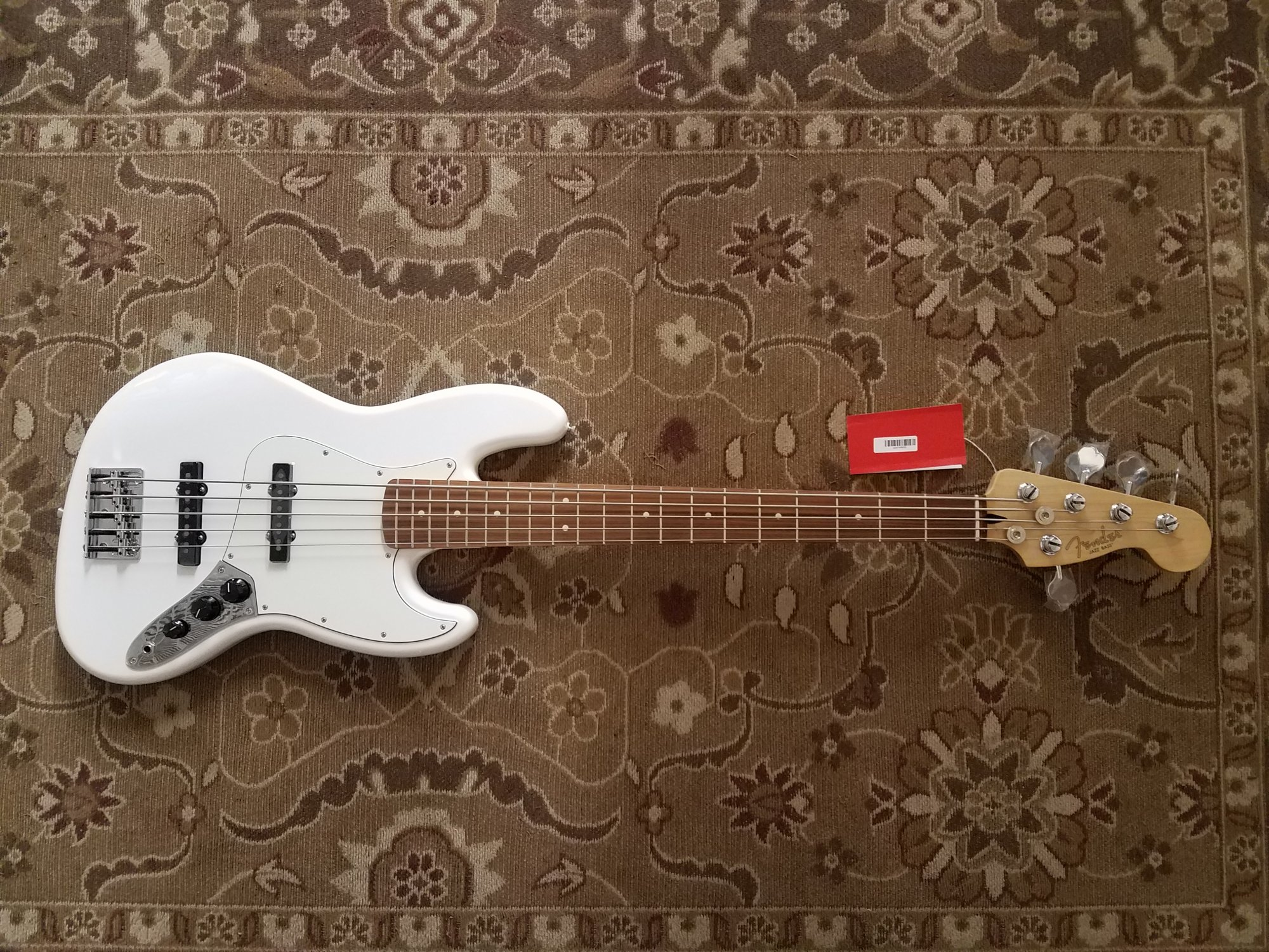 Fender Player Jazz Bass V PWT