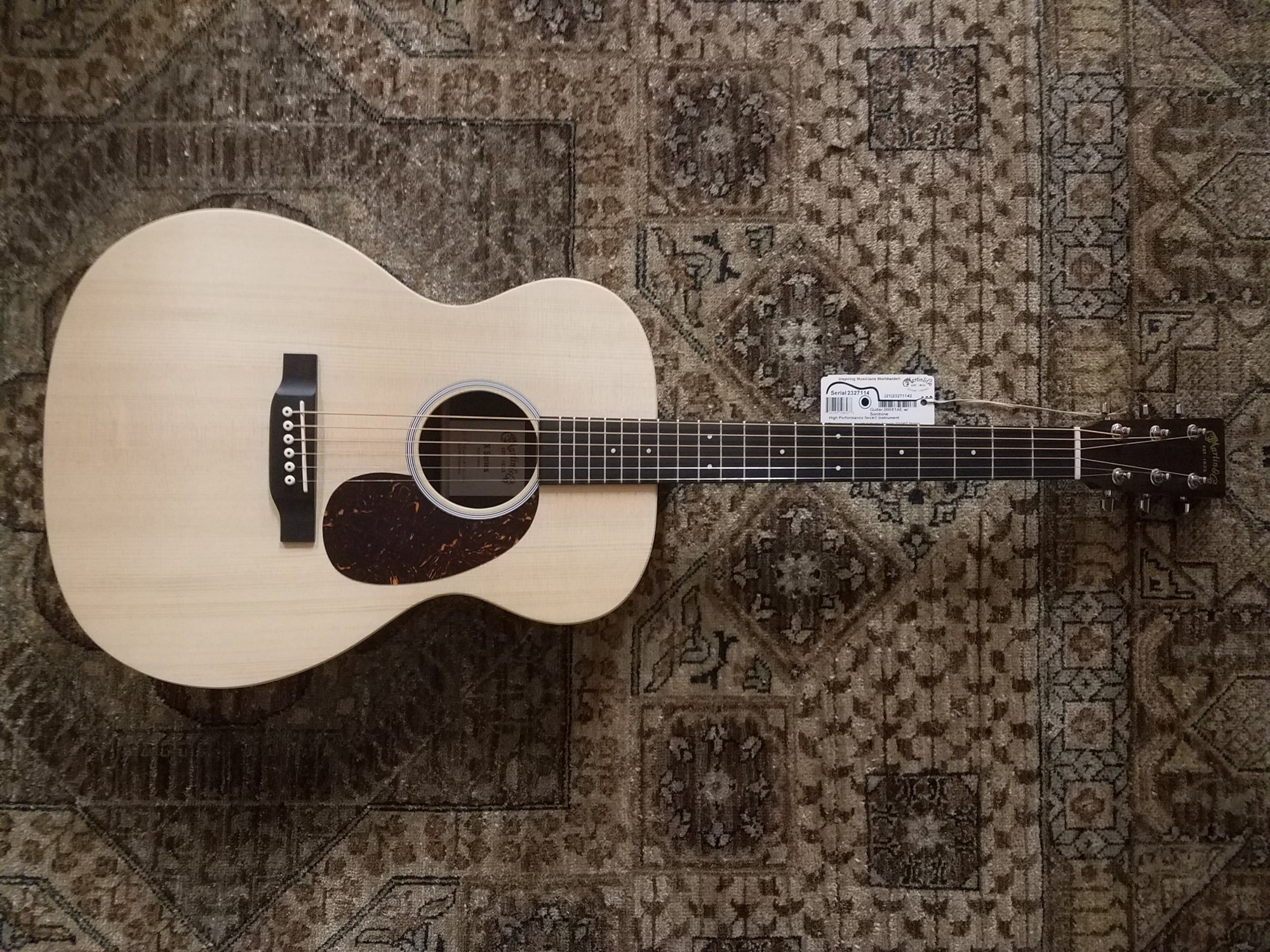 Martin 000X1AE 000-Size Acoustic-Electric Guitar