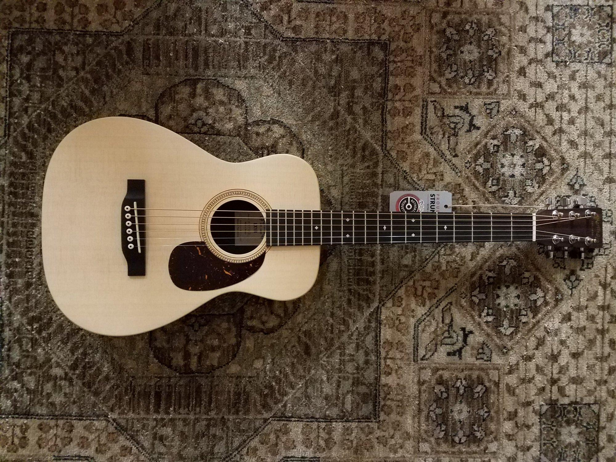 Martin LX1R Little Martin Acoustic w/ Gig Bag & Free Pro Setup