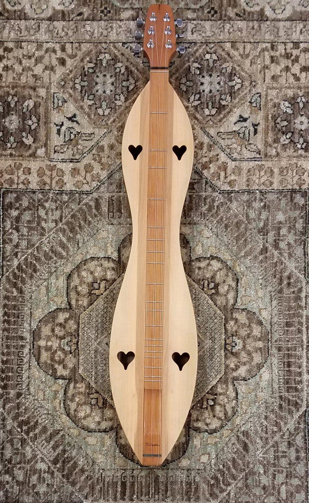 McSpadden 6FHCS 6-String Dulcimer, Spruce Top Cherry Back/Sides