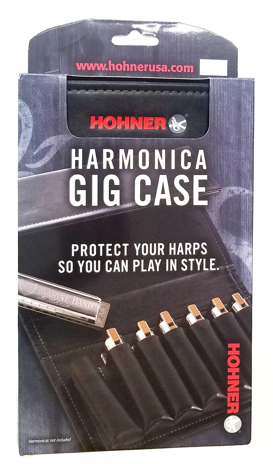 Hohner Seven-Spot Harmonica Gig Case