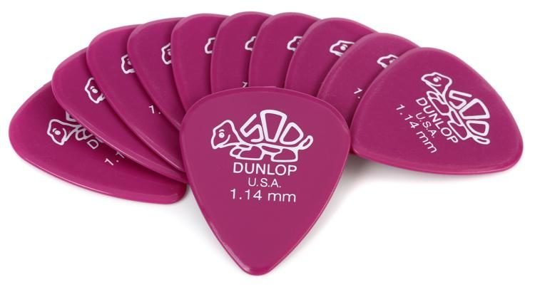 Delrin Standard Pick 1.14mm 12 Pack