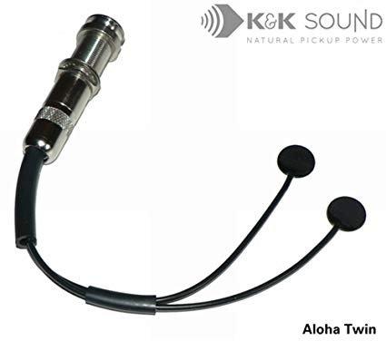 K&K Aloha Twin Pickup for Ukulele