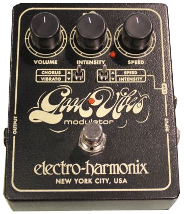EHX Good Vibes Modulator pedal