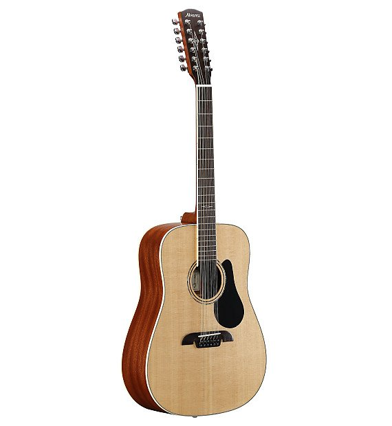 Alvarez AD60 12-String Dreadnought Acoustic Guitar Natural Finish Out of Stock