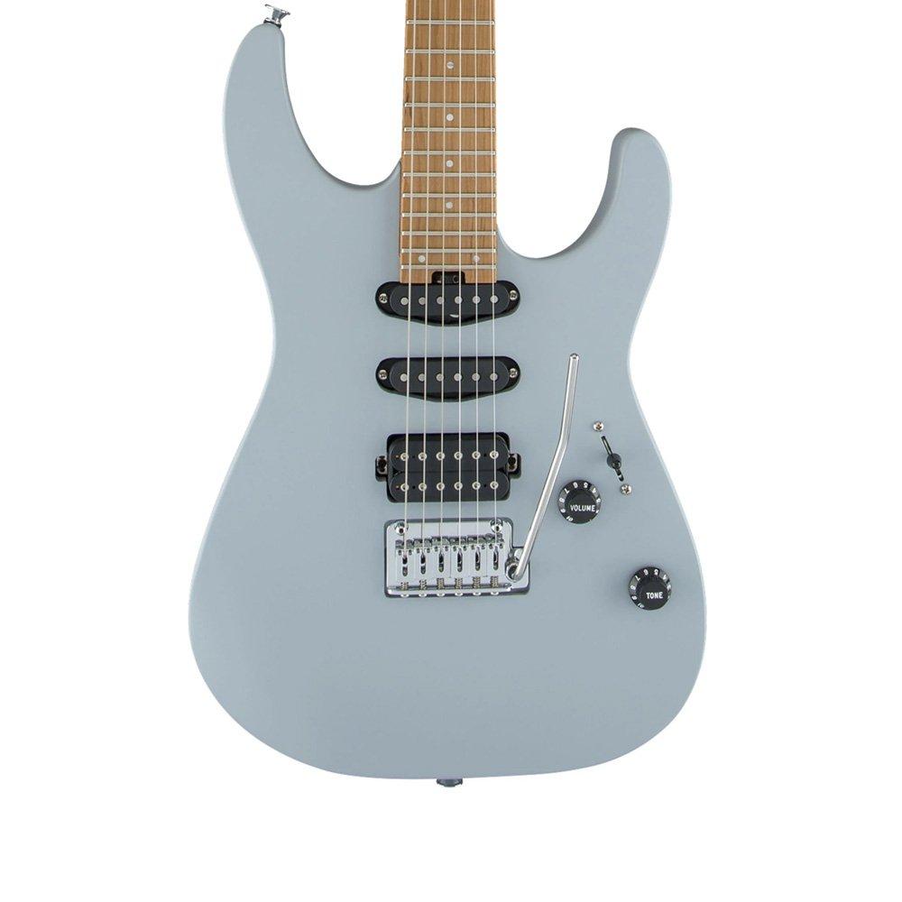 Charvel Pro-Mod DK24 Electric in Satin Primer Grey w/ Free Pro Setup #0853