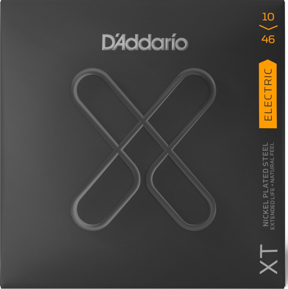 D'Addario XT Electric Guitar Strings 10-46, Coated