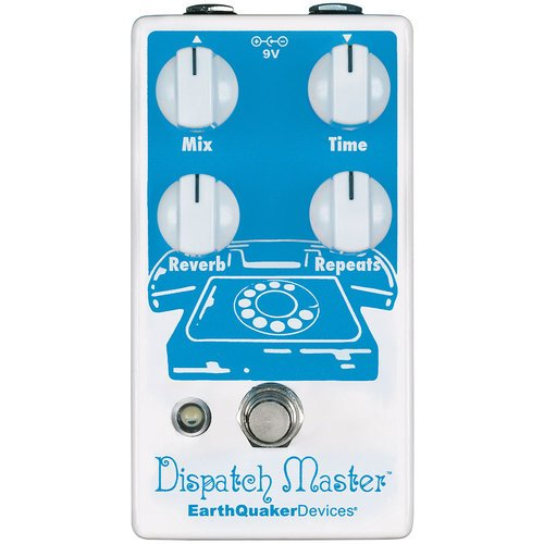 EarthQuaker Devices - Dispatch Master V3 - Digital Delay & Reverb Pedal