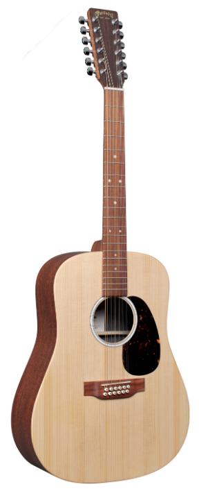 Martin D-X2E 12 String Acoustic Guitar with Gig Bag
