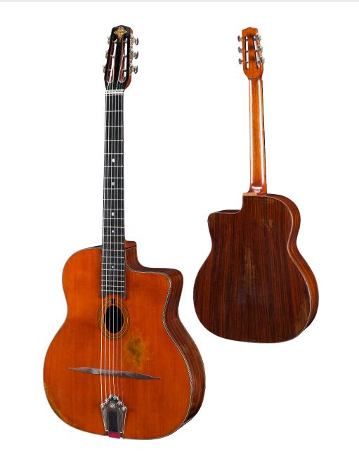 Eastman DM2/v Gypsy Jazz Acoustic in Antique Varnish w/ Case & Pro Setup