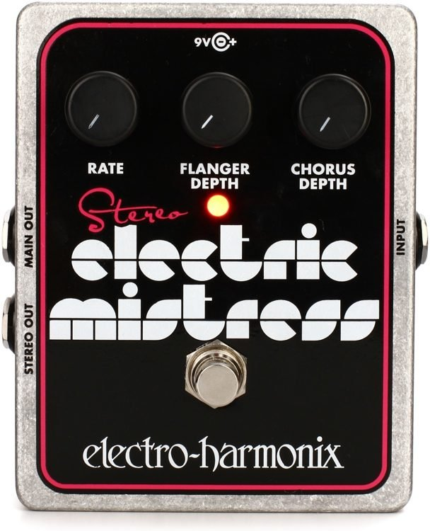 EHX Stereo Electric Mistress Pedal