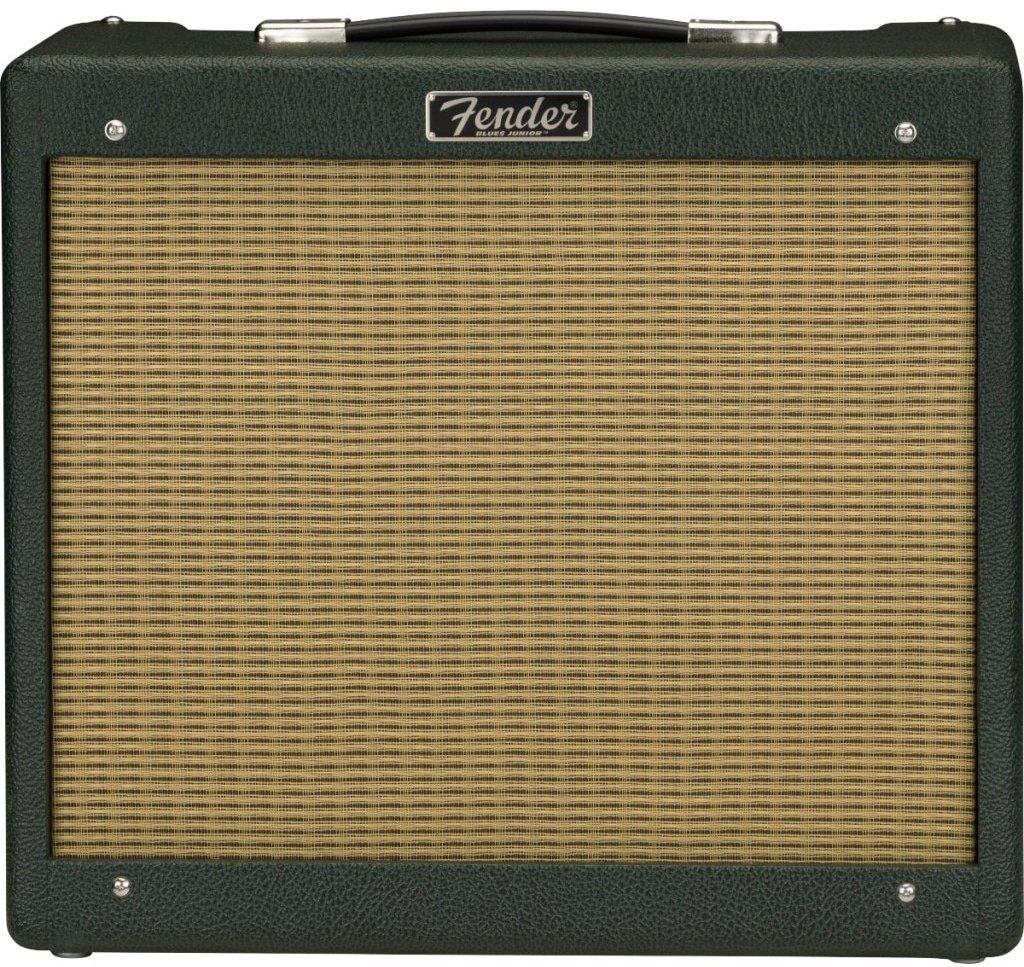 2020 Fender Blues Jr. IV 15W 120V 1x12 Jensen C12Q Guitar Combo Amp w/ British Racing Green