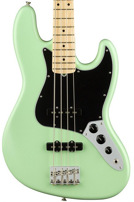 Fender American Performer Jazz Bass Surf Green