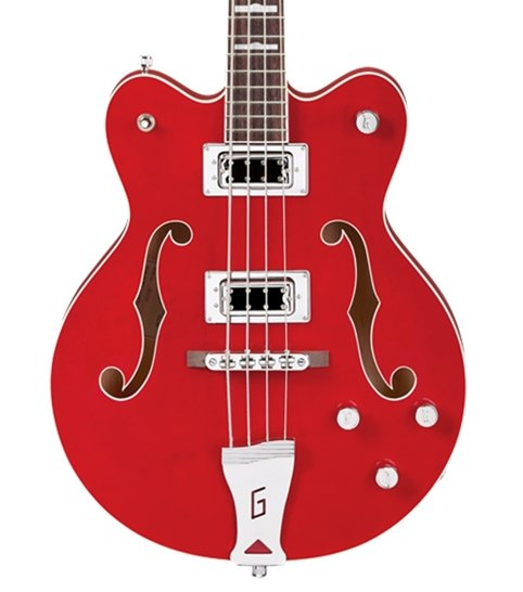 Gretsch G5442B Electromatic Hollow-Body Short-Scale Bass Transparent Red