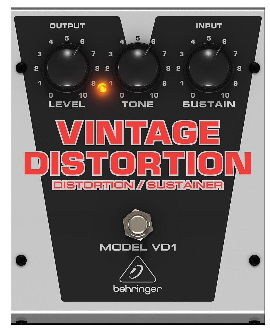 Behringer Vintage-Style Distortion/Sustainer