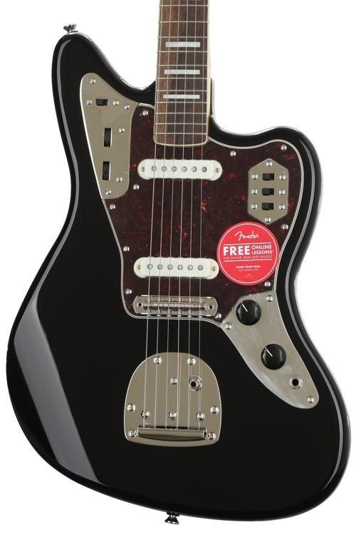Squier Classic Vibe 70s Jaguar Black Laurel Fingerboard