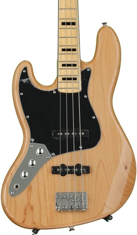 Squier Vintage Modified Jazz Bass Lefty Natural Finish