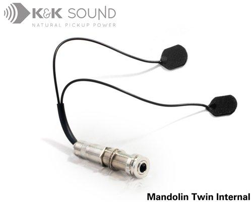 K&K Mandolin Twin Dual Head Transducer Internal