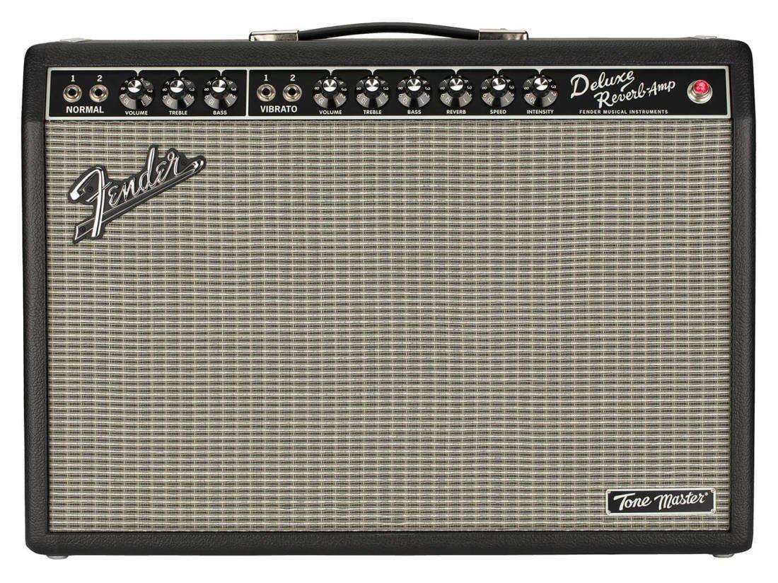 Fender Tone Master Deluxe Reverb 120V 1x12 Digital Guitar Combo Amp