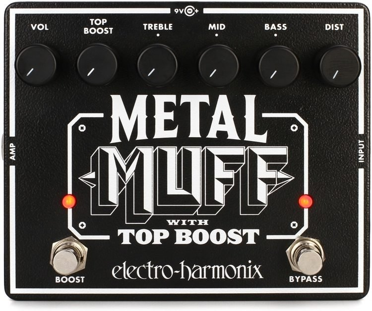 EHX Metal Muff Distortion Pedal