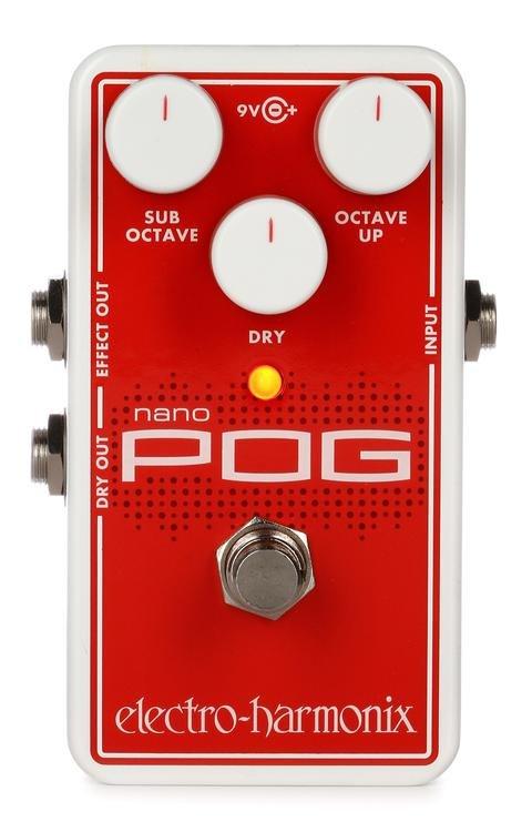 EHX Nano Pog Octave pedal