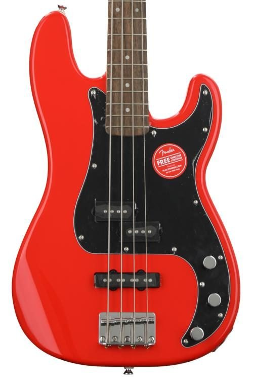 Squier Affinity Precision Bass PJ Race Red