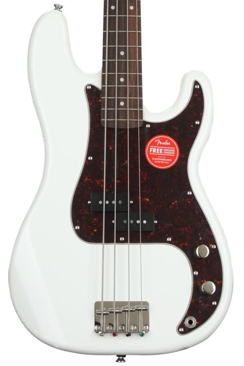 Squier Classic Vibe '60s P Bass Olympic White