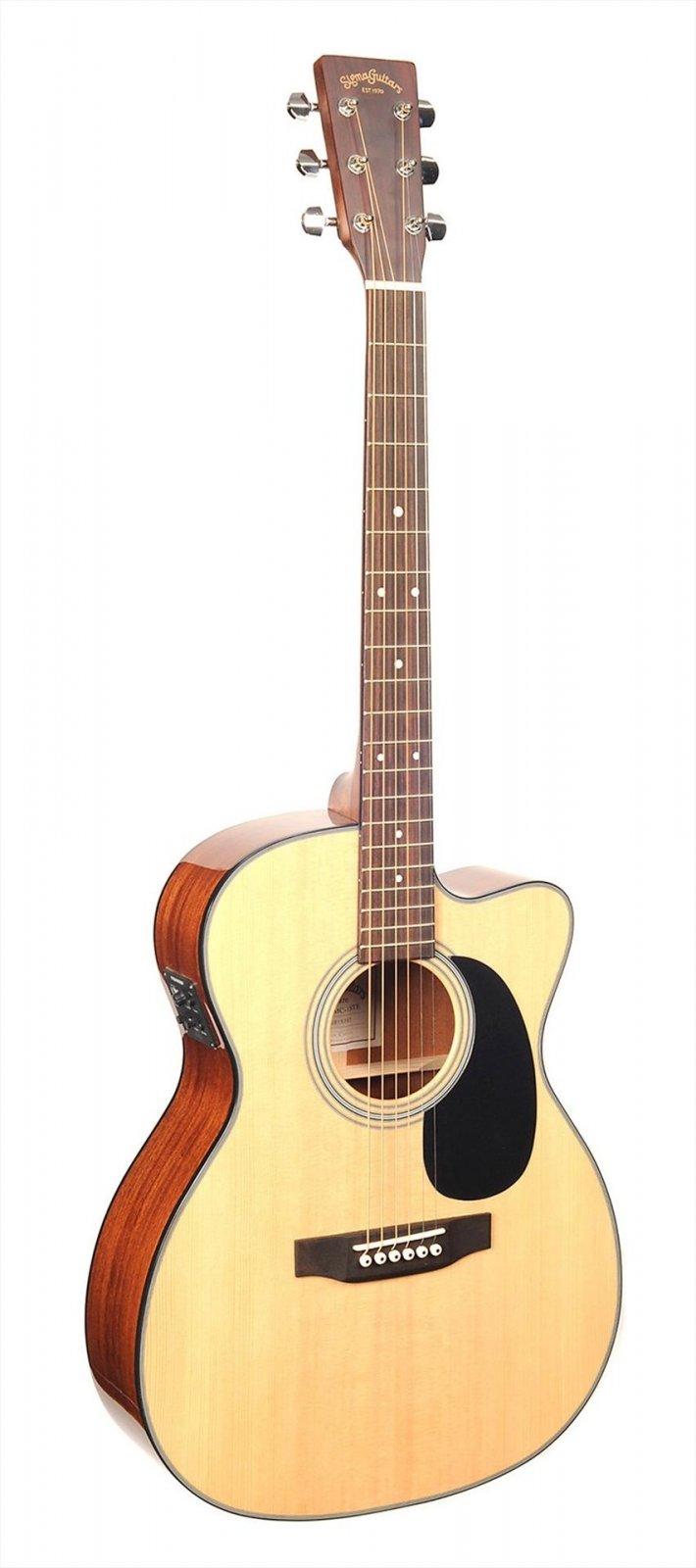 Sigma 000MC1STE Triple 0 Size Acoustic/Electric