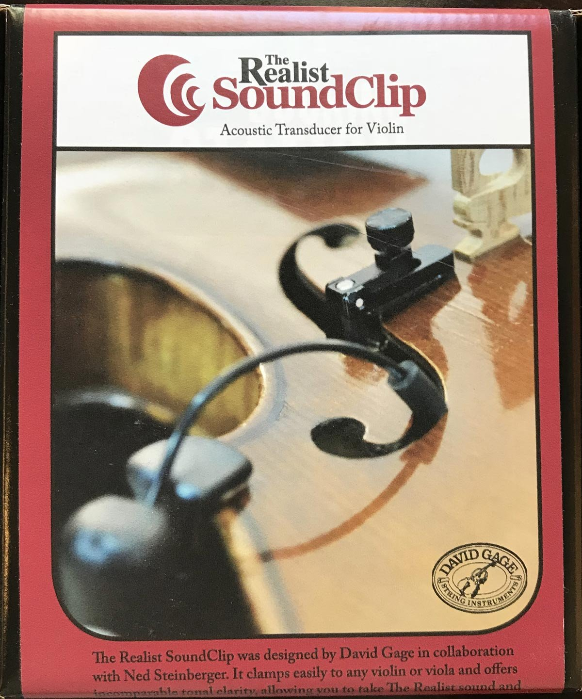 Realist SoundClip for Violin and Viola