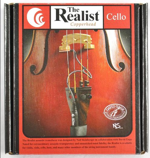 Realist Cello transducer