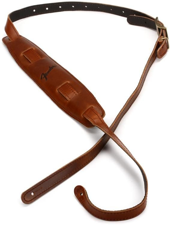 Fender Mustang Saddle Strap Cognac