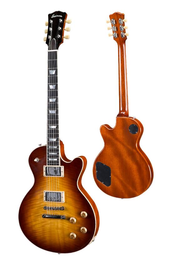 Eastman SB59-GB Solid Body Electric Guitar in Goldburst w/ Case #3108