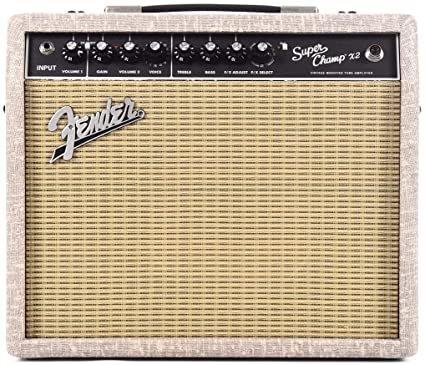2020 Fender Super Champ X2, Eminence Ragin Cajun Guitar Combo Amp w/ Fawn Wheat Covering