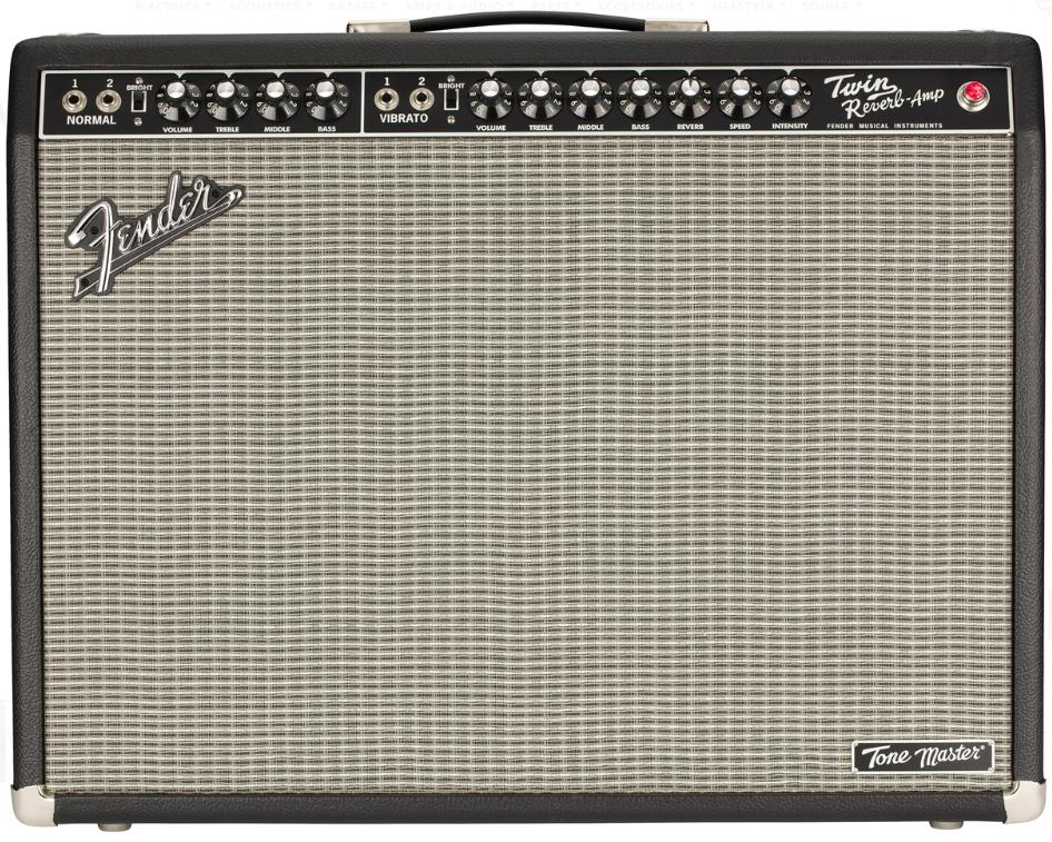Fender Tone Master Twin Reverb 200W 120V 2x12 Digital Guitar Amp