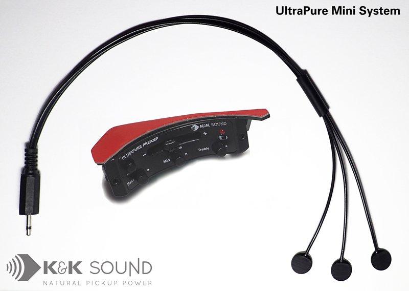 k&k Ultra Pure Preamp w/Pure Mini Pickup