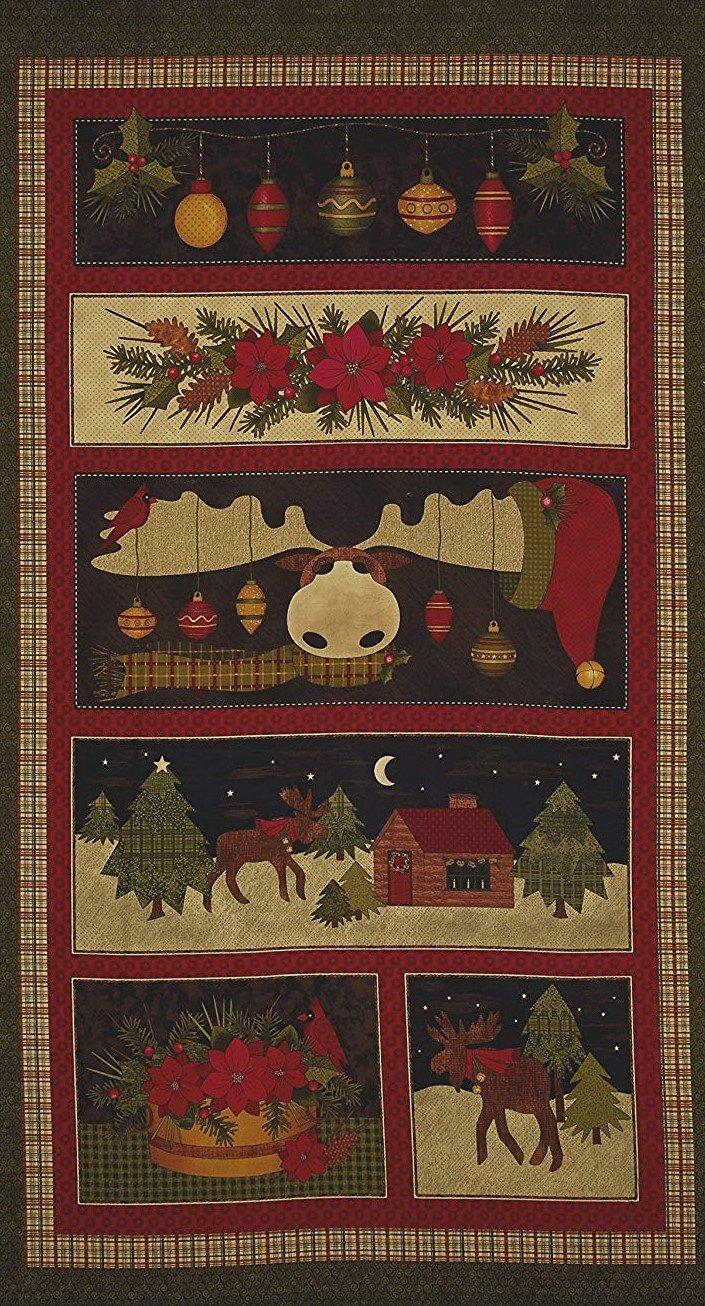 A Moose For Christmas Pan