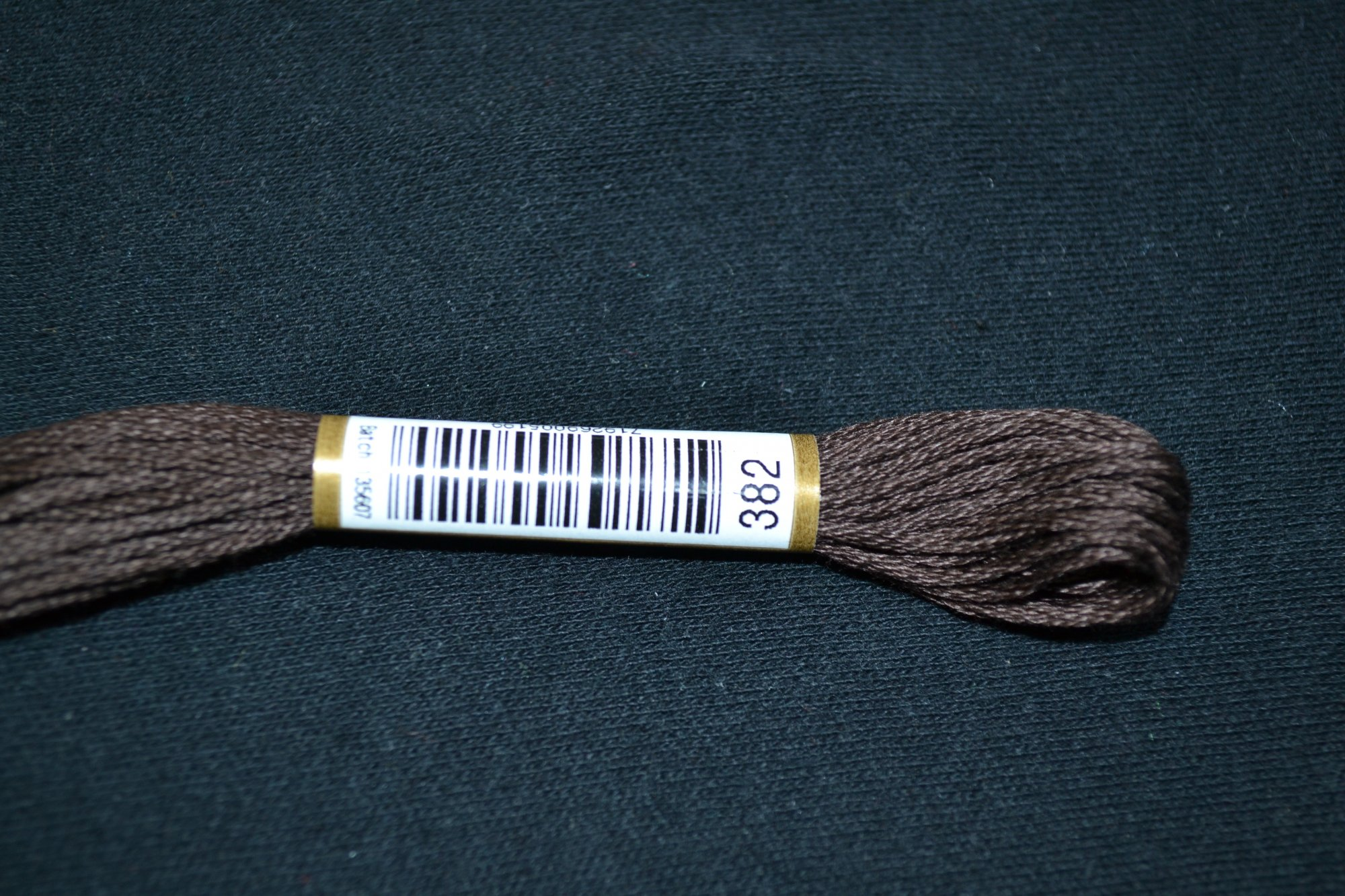 Anchor Embroidery Floss 382 Black Brown