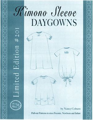 Ginger Snaps Designs Kimono Sleeve Daygowns