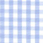 Cotton Gingham 1/4 Blue