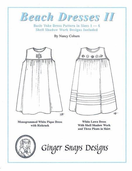 Ginger Snaps Designs Beach Dresses II